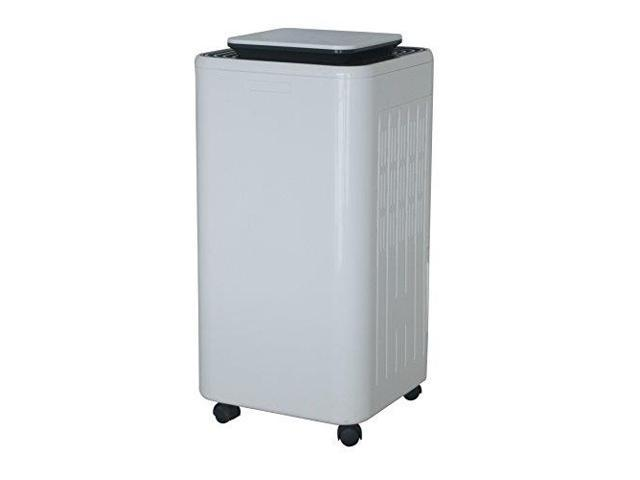 Ivation 11-Pint Small-Area Compressor Dehumidifier - With Continuous Drain  Hose, Air Purifier & Ionizer for Smaller Spaces, Bathroom, Attic,