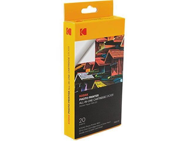 50 Pack Kodak mini photo printer cartridge Paper /& color ink cartridge refill P