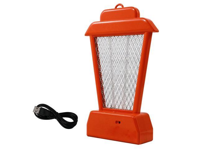 ASR Outdoor 11 5 Inch Rechargeable UV Hanging Bug Zapper Bright Orange  Stand - Newegg com