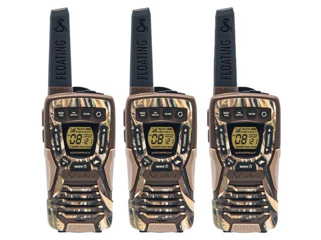 Rechargeable Batteries with Convenient Charging Cable Black 22 Channels NOAA Weather Channels Uniden SX237-2C Up to 23-Mile Range FRS Two-Way Radio Walkie Talkies Alert 121 Privacy Codes
