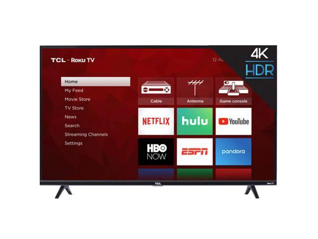 TCL 55S425 55 inch 4-Series 4K Roku Smart UHD TV