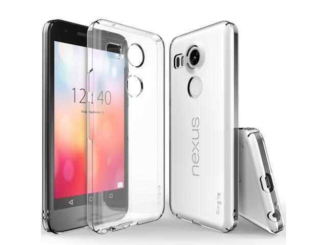 low priced b0679 81f38 Google Nexus 5X Case, Ringke SLIM [Clear] Perfect Fit & Slim  Scratch-Resistant Protective Hard Case - Newegg.com