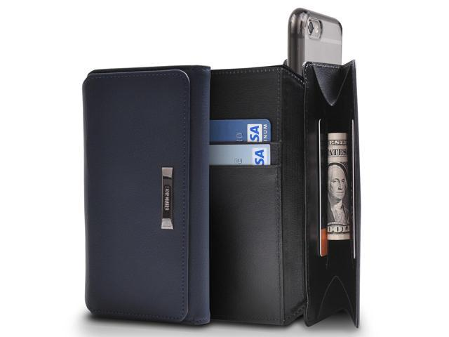 931f21455709 Apple iPhone 7 Case, Ringke [Wallet] Full Purse Case All Around Protective  Hybrid Wallet Cover - Navy - Newegg.com