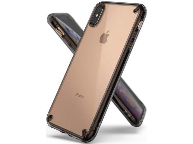 new style 3e00b 894de iPhone XS Max Case, Ringke [Fusion] Clear PC Back Cover [Anti Cling Dot  Matrix Tech] Lightweight Upgraded Transparent TPU Bumper for Apple iPhoneXS  ...