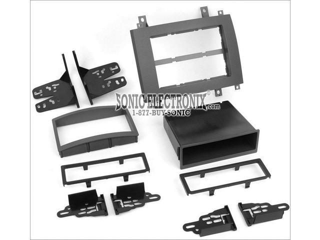 99-2006G Car Stereo Double /& Single Din Radio Install Dash Kit /& Wires CTS /& SRX