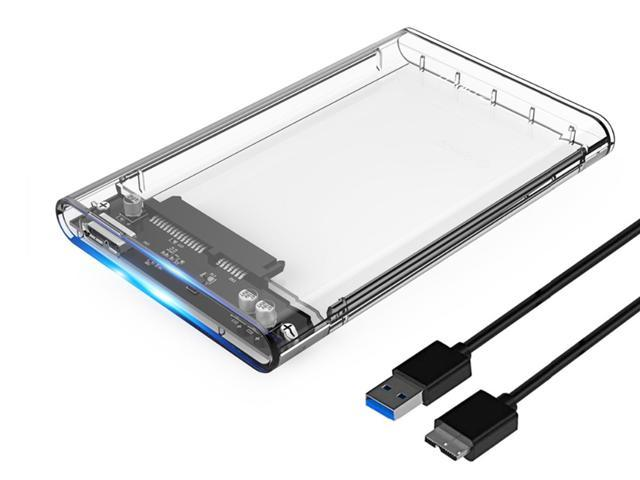 Orico 2 5 Transparent Usb 3 0 To Sata 3 0 External Hard Drive Disk Enclosure Box Usb 3 0