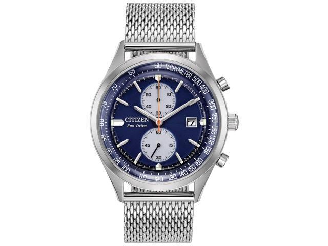 Citizen Ca7020 58l Chandler Men S Watch Silver 43mm Stainless Steel