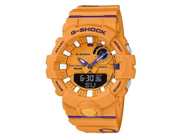 Casio Gba800dg 9a G Shock Men S Watch Yellow 54 1mm Resin Newegg Com