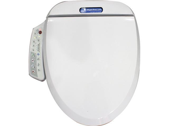 Remarkable Bidet4Me E 200A Electronic Bidet Seat With Dryer And Deodorizer White Creativecarmelina Interior Chair Design Creativecarmelinacom