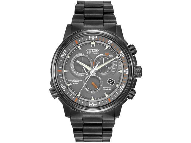Citizen At4117 56h Eco Drive Nighthawk A T Chrono Mens Watch