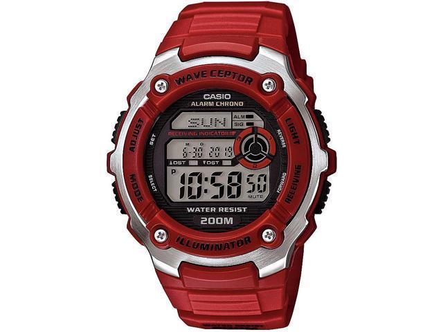 men s casio waveceptor atomic digital sports watch wv200a 4a rh newegg com Wave Ceptor Illuminator Manual casio wave ceptor 3140 manual español