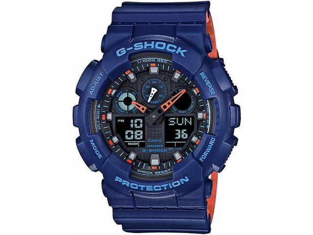 Casio G Digital 2a Shock Analógico Reloj Azul Ga100l zqUMVpS