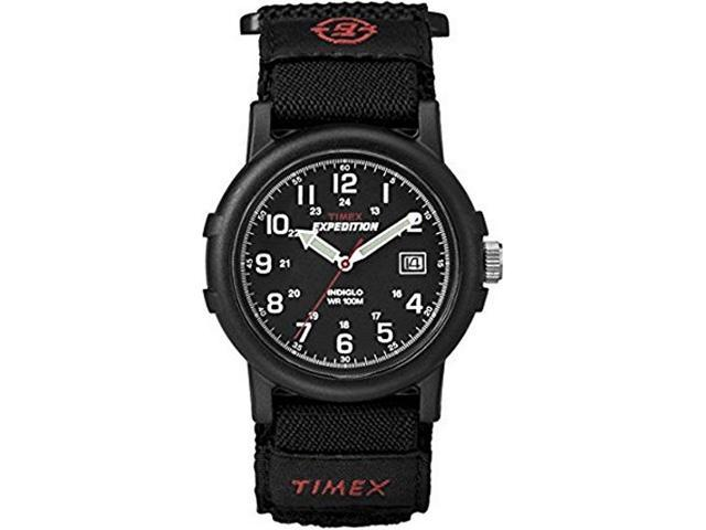 Men's Timex Expedition Camper Black Nylon Band Watch T40011 T400119J