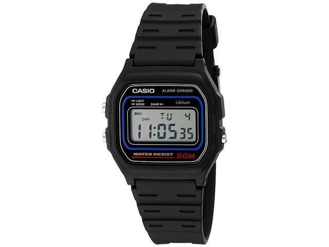 Men's Casio Black Classic Casual Digital Watch W59-1V
