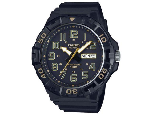 Men's Casio Black Diver's Style Oversized Sports Watch MRW210H-1A2