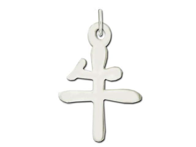 Sterling Silver Ox Kanji Chinese Symbol Charm Newegg