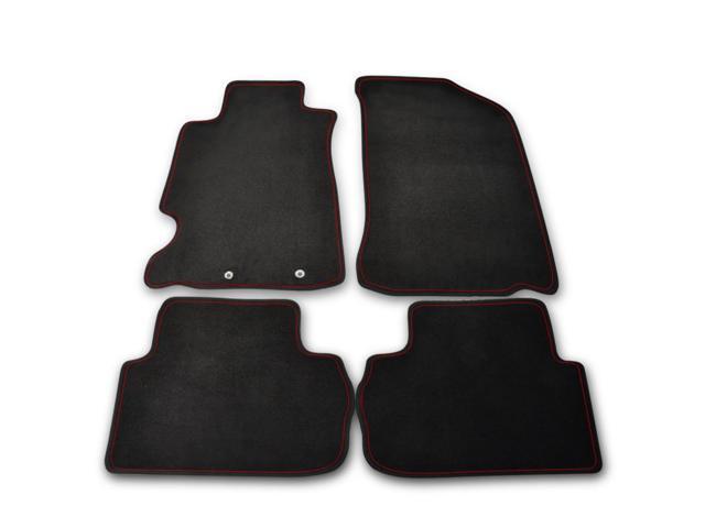 SpecD Tuning Acura Rsx Dc Pc Black Fabric Carpet Floor - Acura rsx floor mats