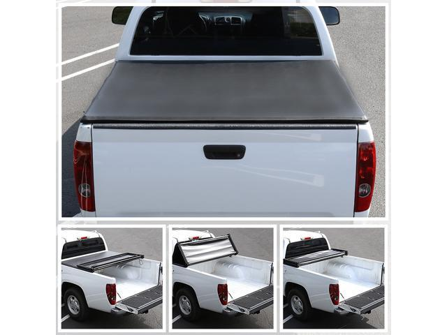 Spec D Tuning For 2014 2019 Ford F150 Super Crew Cab 8ft Bed Trifold Soft Tonneau Cover 2015 2016 2017 2018 Newegg Com