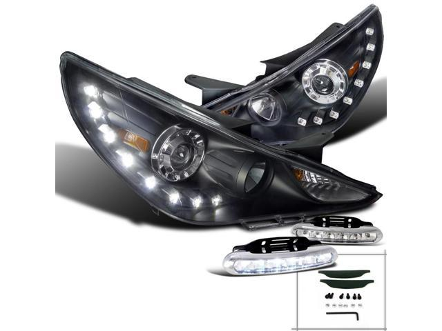 Spec D Tuning For 2011 2014 Hyundai Sonata Black Smd Led
