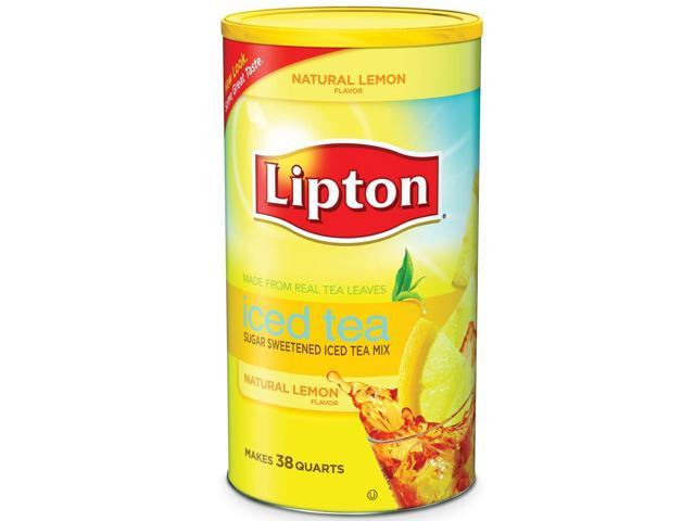 Lipton Lemon Iced Tea Mix - 100 oz