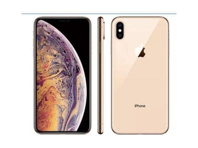 Apple - iPhone XS 256GB - Gold - Unlocked - MT992LL/A - Newegg.com