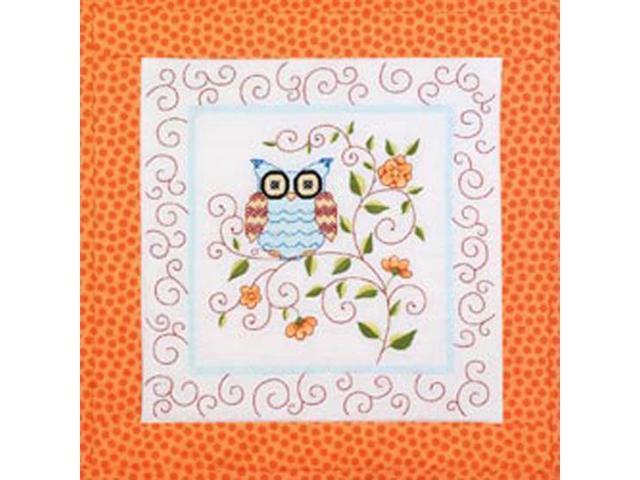 Owl Quilt Blocks Stamped Cross Stitch 15x15 6pkg Newegg
