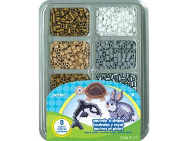 Perler Beads-Neutre colorfused Bead Tray-Fused couleur 4000pkg