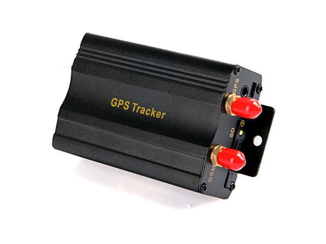 Vehicle Car GPS Tracker 103A with GSM Alarm SD Card Slot Anti-theft -  Newegg com