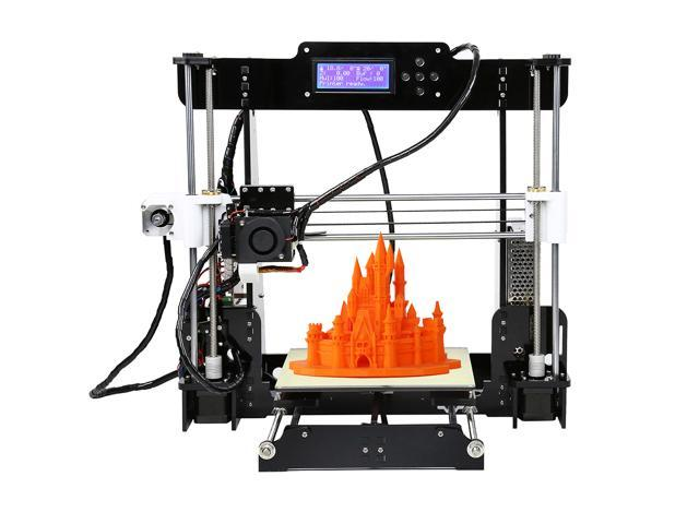 220*220*240mm High Quality Precision Reprap i3 3d Printer DIY kits BUNDLE