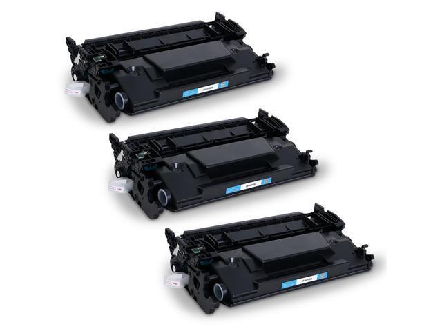 Inkuten 3 Pack Hp Laserjet Pro Mfp M426fdw Black High Yield Toner Cartridges Compatible