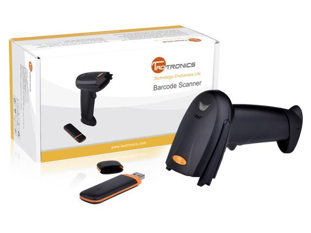 TaoTronics TT-BS012 Wireless Cordless Handheld Barcode Scanner Reader Kit -  Newegg com
