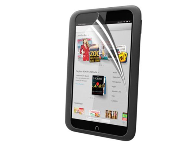 """Clear HD LCD Screen Protector Shield Film For Barnes /& Noble Nook HD 7/"""" Tablet"""