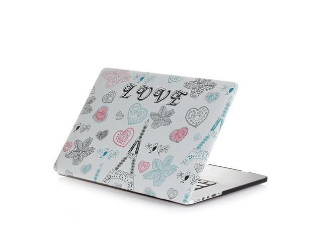 promo code e03ec 15b31 MacBook Pro 13 inch Case Love Heart - Rubberized Matte Hard Snap-on Shell  Protective Cover Skin for Apple MacBook Pro 13