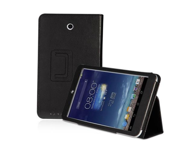 check out 18620 05eaf ASUS MeMO Pad 8 ME180A Case - Slim Fit Folio PU Leather Smart Cover Stand  For ASUS MeMO Pad 8 ME180A Tablet with Auto Sleep & Wake Feature Black - ...