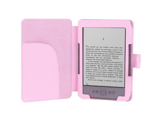 Kindle 5 & Kindle 4 Case - Slim Fit Folio PU Leather Case Smart Cover For  Amazon Kindle With 6'' E Ink Display (does not fit Kindle Paperwhite,  Touch,