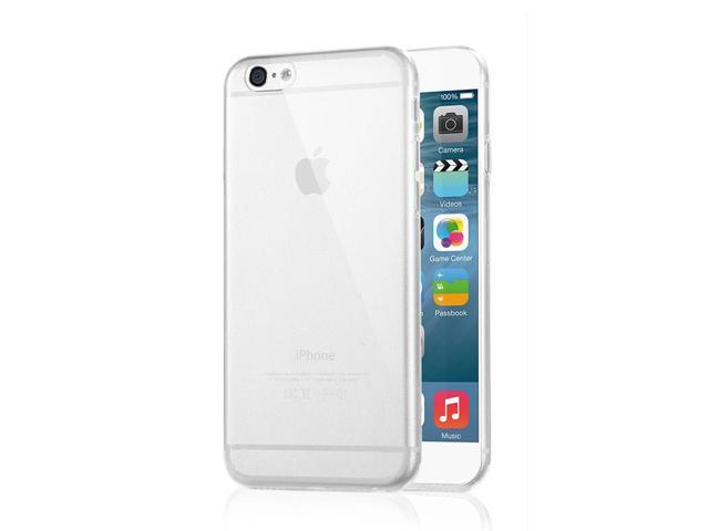 iPhone 6 Case - Ultra Thin Transparent Clear Crystal Soft Silicone Case Cover For Apple iPhone 6 4.7'' Clear