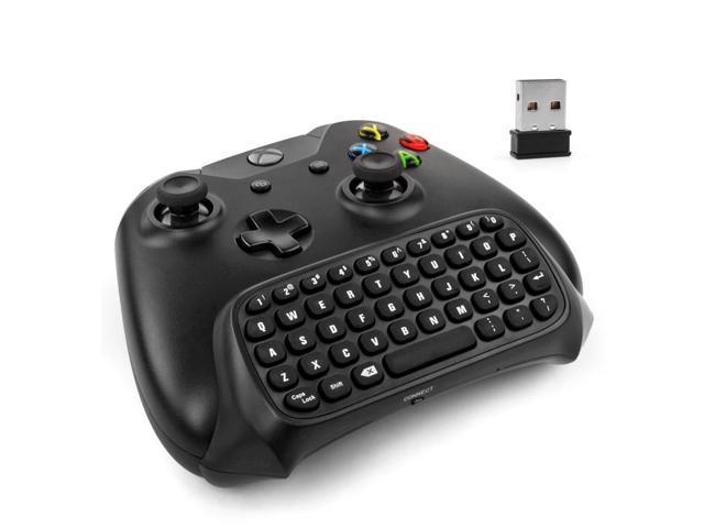 Xbox One Keyboard - 2 4Ghz USB Wireless Mini Bluetooth Chatpad Keypad  Adapter Keyboard 47 Keys for Microsoft Xbox One Game Controller - Best Text