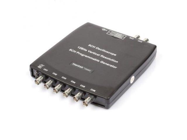 Hantek 1008 C PC 8CH USB Diagnostic Automobile DAQ Program Multi-fonction