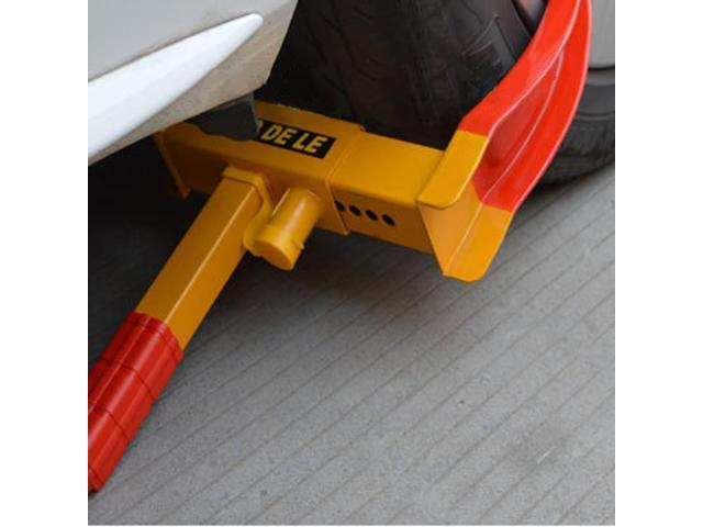Wheel Lock Clamp Anti-theft Towing Parking Boot Tire Claw Heavy Duty on golf cart dui, golf cart accidents, golf cart injury, golf cart pimping, golf cart fatalities, golf cart pranks, golf cart explosion, golf cart arrest, golf cart security devices, golf cart conversion, golf cart collision, golf cart disasters,