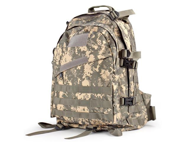 37ff4751a0c1 Military Tactical Backpack (ACU) Outdoor Camping Hiking Hunt Trekking  Assault Rucksack Travel Molle Daypack