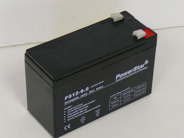 PowerStar Battery for APC BK500 12V 9AH
