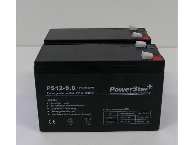 powerstar 3 year warranty 12v 9ah battery for apc back ups. Black Bedroom Furniture Sets. Home Design Ideas