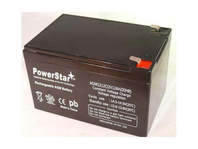 replacement zeus pc12 12 12v 12ah sla sealed lead acid battery