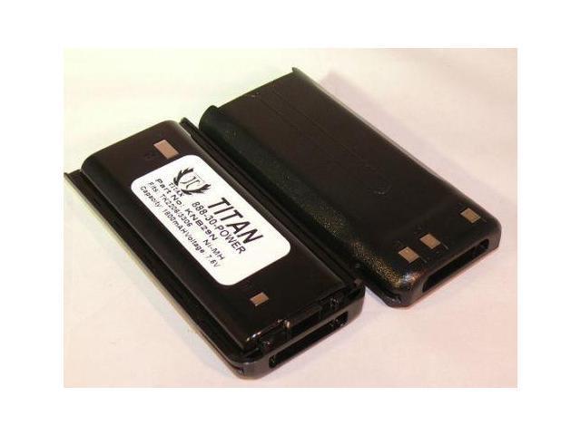 2x Two-Way Radio Battery for Kenwood TK-2207 TK-2200 TK-2206 KNB-30A TK-2202E