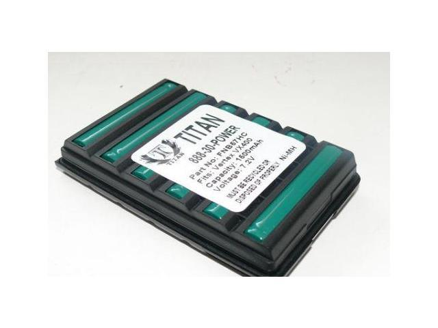10 pcs 1600mAh FNB-V57 FNB-83 FNB-V94 Battery for YAESU VERTEX VX400 VX180 VX150