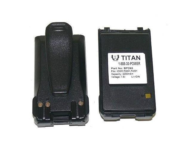 2X 2200mAh BP-265 Battery for ICOM IC-T70A / IC-T70E Dual Band FM  Transceiver - Newegg com