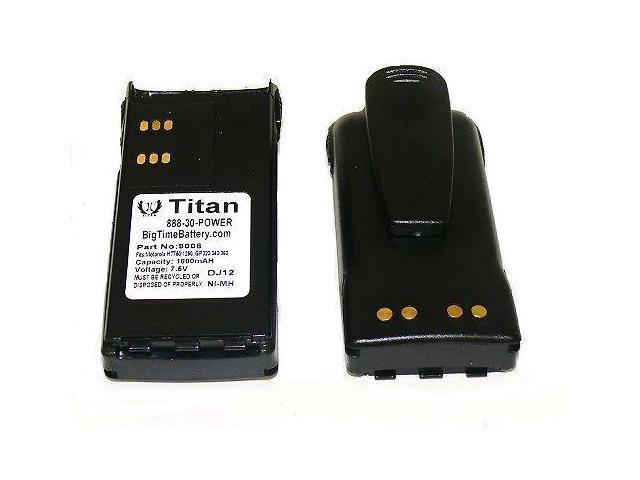 HNN9008 HNN9009 Battery for MOTOROLA GP328 HT750 HT1250 HT1550 CLIP