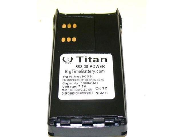 2700mAh Extended HNN9008 HNN9009 Battery for MOTOROLA HT750 HT1250 HT1550