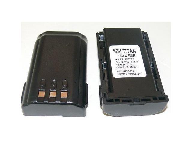 2200mAh Battery for BP-232 BP-232N ICOM IC-A14S IC-F14S IC-F24S FC-F3021 F4201