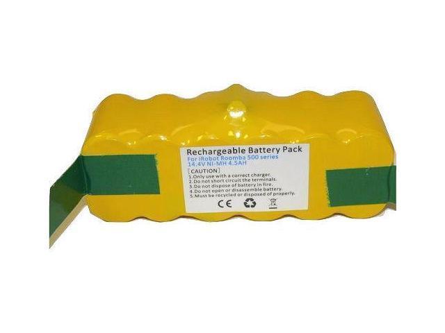Extended 14 4V 4500mAh Battery for iRobot Roomba 500 510 530 550 580-NR 610  - Newegg com